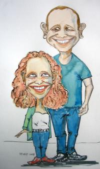 Karikaturer Tegninger Illustrationer Portr 230 Tter Sjove